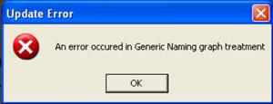 Generic Naming graph treament error