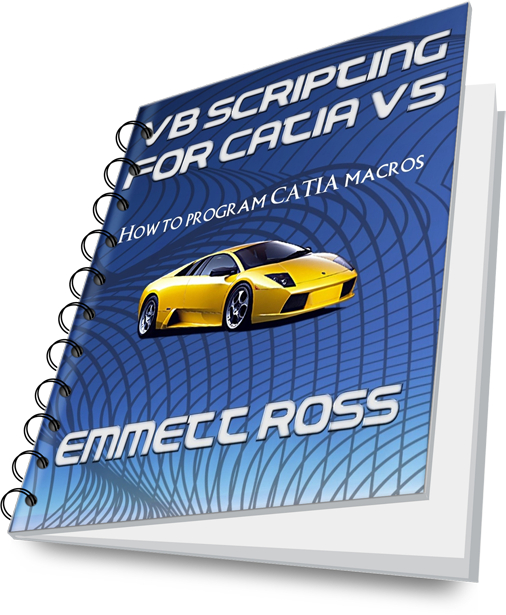 vb scripting for catia v5 book