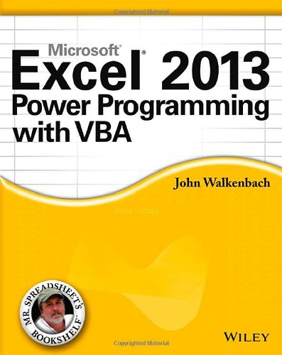 power programming with vba cover