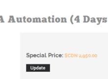 caita automation training cost