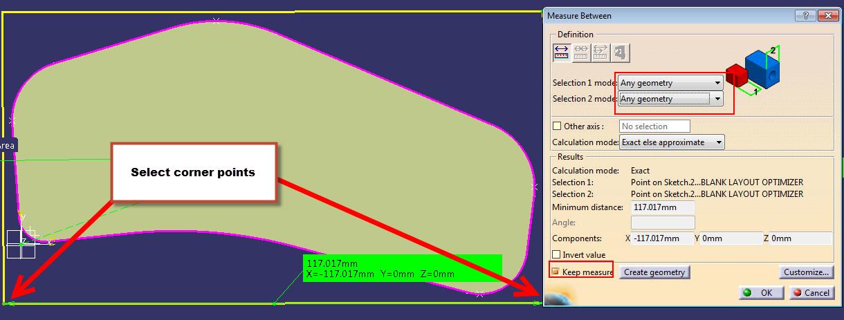 material yield 8 - create a length parameter